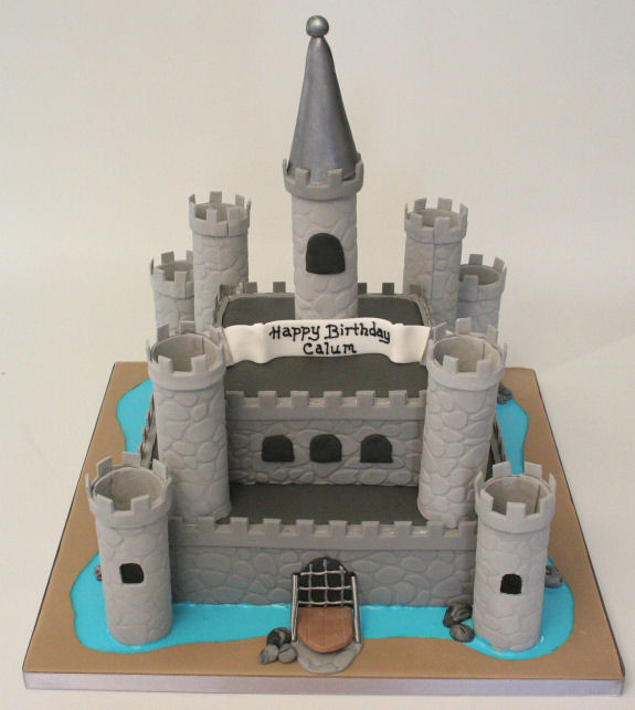 Toy Castles For Little Boys : Castle birthday cake a for little boy his
