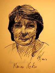 Portrait Marion Lokin by Sketchmanni
