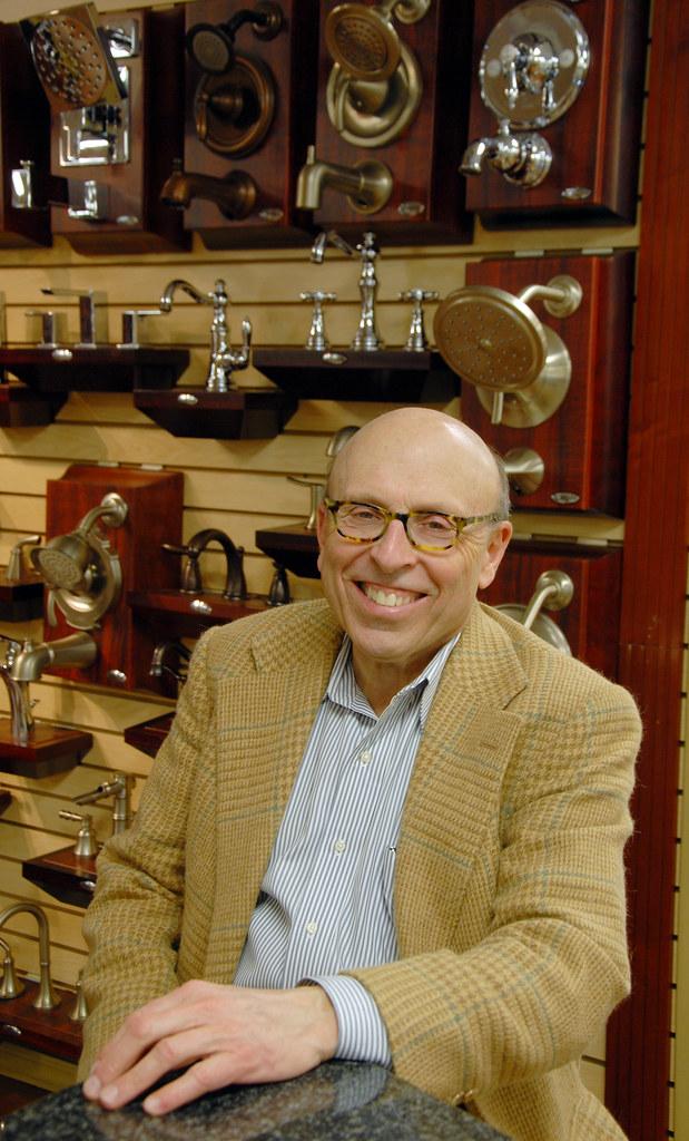 Bruce Tucker President Of General Plumbing Supply Inc He