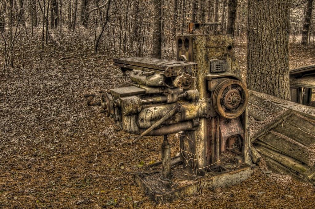 Horizontal Milling Machine >> HDR Kearney & Trecker 2H horizontal milling machine | Flickr