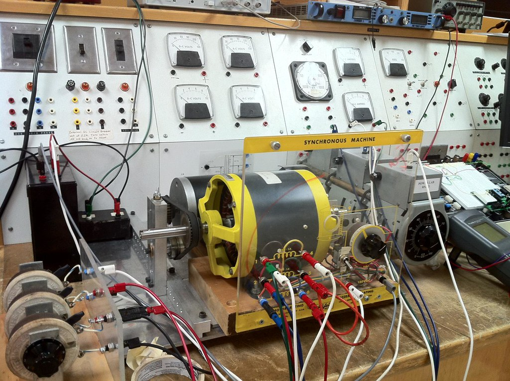 Electrical Engineer Equipment : Electrical engineering test equipment wesley fryer flickr