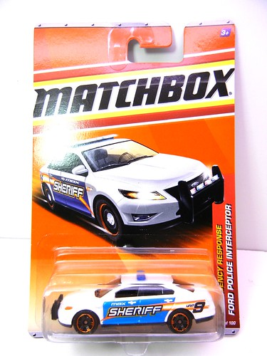 MATCHBOX FORD POLICE INTERCEPTOR (1) | by jadafiend