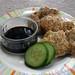 닭고기전 (dalg-gogi-jeon) - Chicken Pancakes
