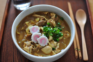 Homemade curry udon | by babykins.