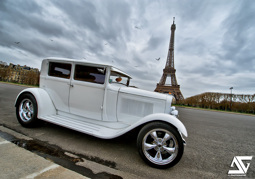 hot rod ford model a champs de mars paris france hdr. Black Bedroom Furniture Sets. Home Design Ideas