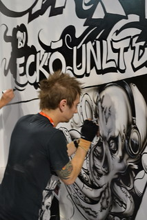 Graffiti Artist @ Ecko | by International CES