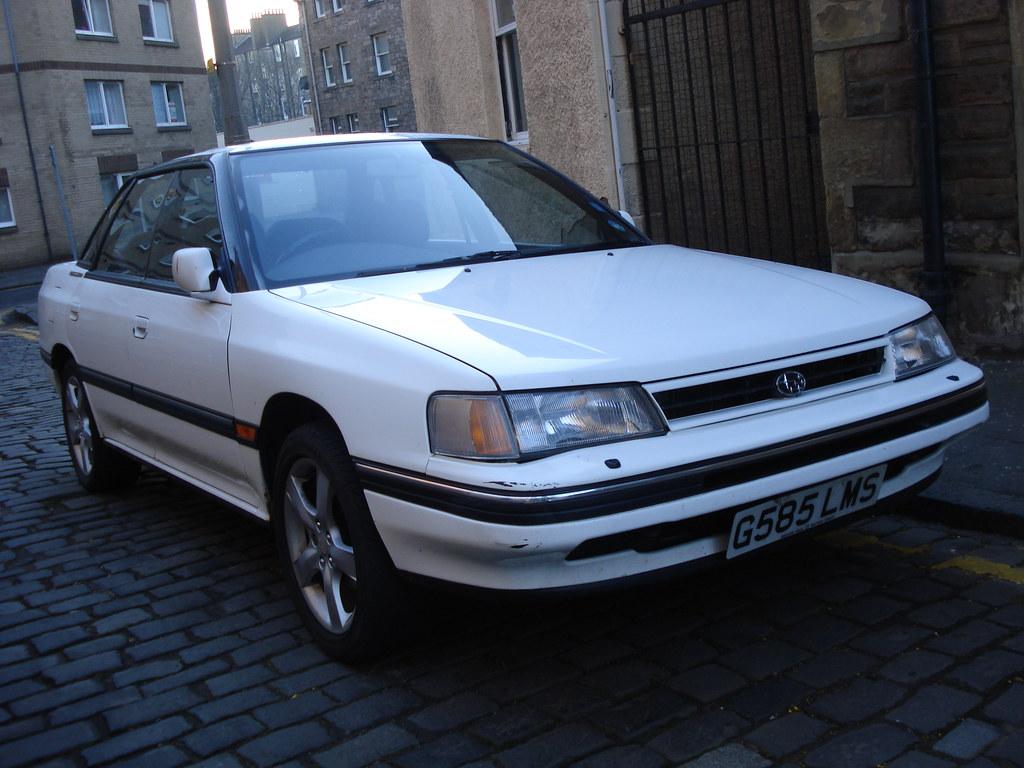 1990 subaru legacy 2.2 gx | edinburgh is still providing me … | flickr