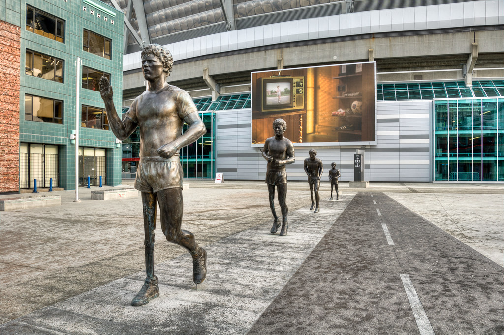 Terry Fox statue, Vancouver | coquitlam guy | Flickr | 1024 x 681 jpeg 281kB