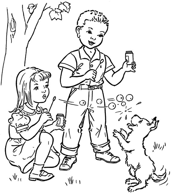 coloring book children 1 nd