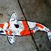 Koi Fish Sidewalk Art