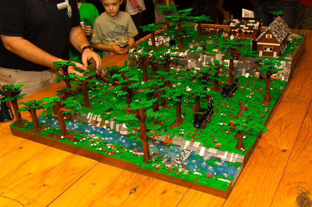 Lego Forest Tim Moreillon Flickr