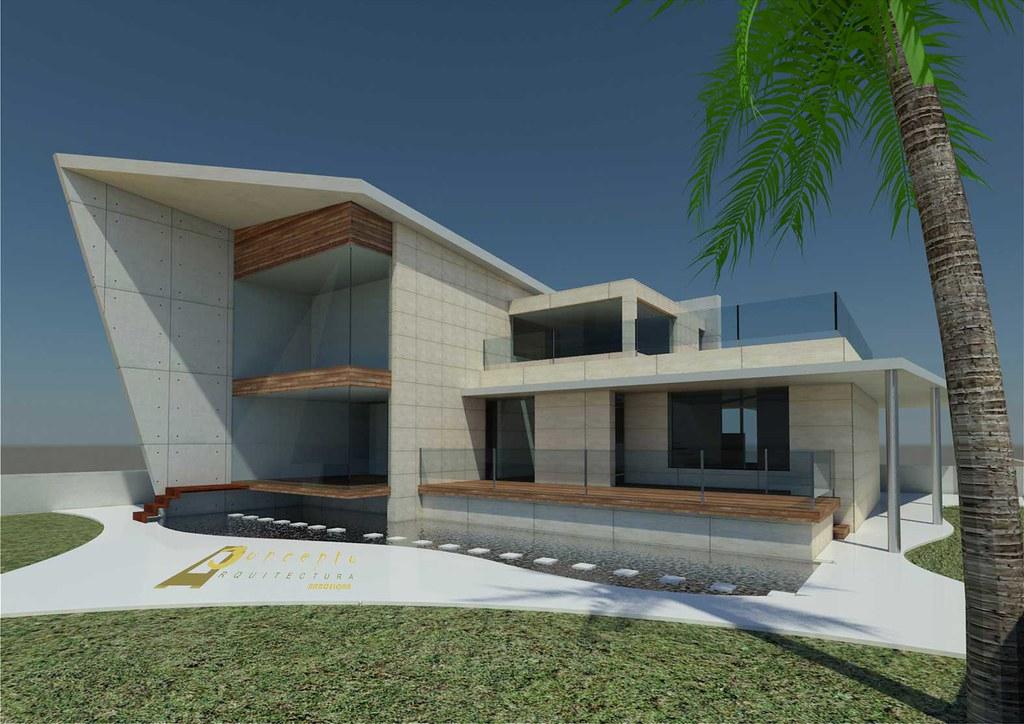 Casa dise o concepto arquitectura barcelona dise o de for Arquitectura minimalista concepto