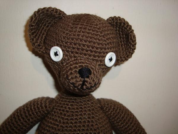 Teddy de Mr. Bean Own pattern / Patron propio. Cinthya Flickr