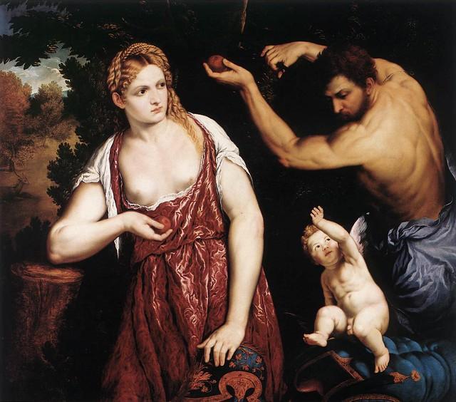 Paris Bordone, Venus and Mars with Cupid, 1559-60, Oil on canvas, 118 x 130,5 cm, Galleria Doria Pamphilj, Rome