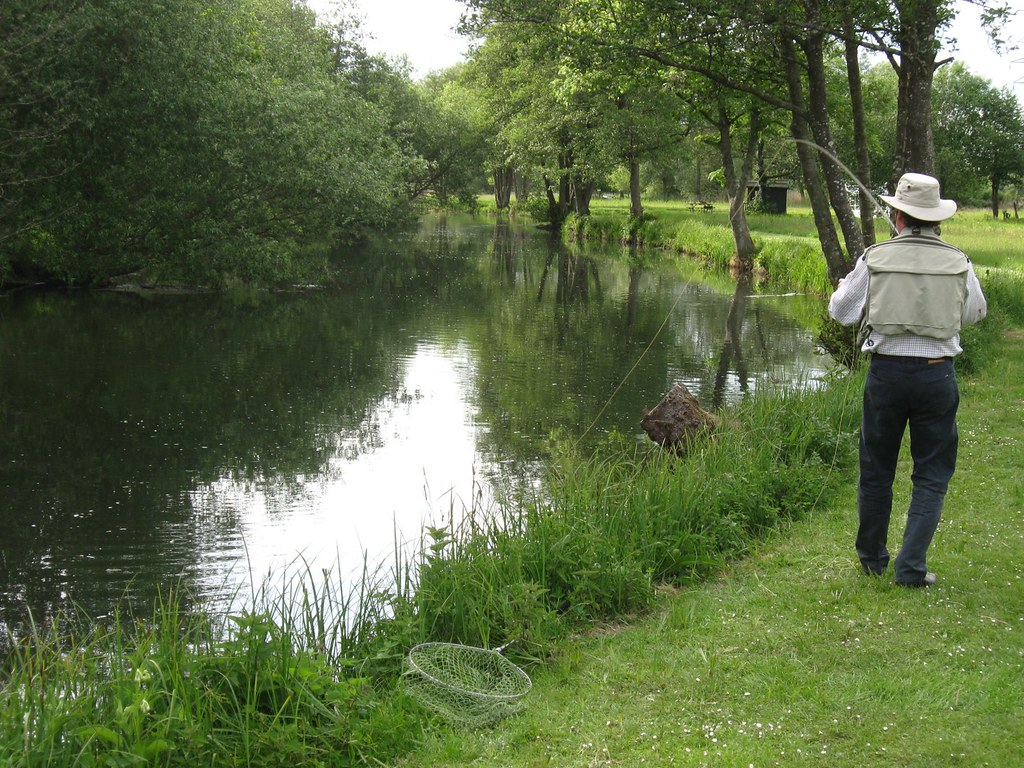 River test timsbury 13th may on the river test guided for Fly fishing guide jobs