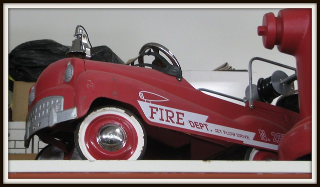Fire Engine Pedal Car Uk