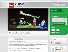 Adventure Time in LEGO by Ochre Jelly project 1618