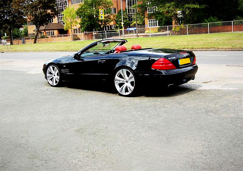 2010 Mercedes Benz Sl 500 On Mania Savoy Wheels 2010
