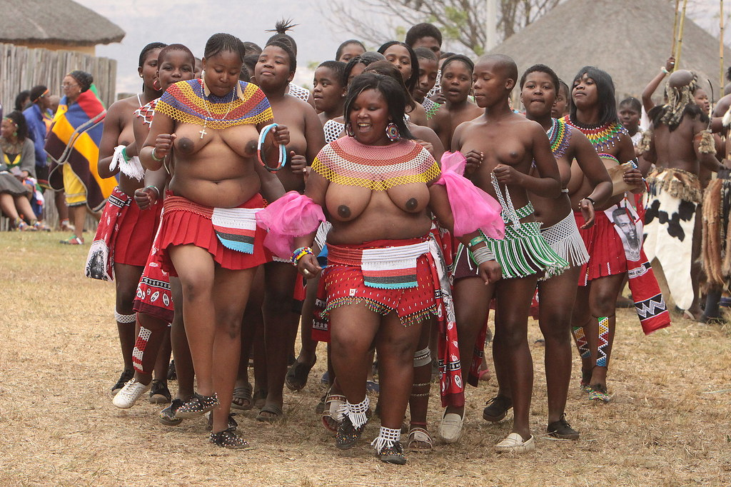 That would South african reed dance girls think, that
