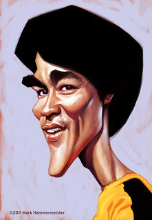 Bruce Lee | by Mark Hammermeister