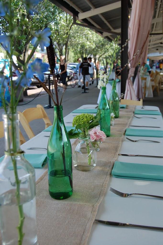Diy wedding ideas wine bottle centerpieces when it for Homemade wine bottle centerpieces