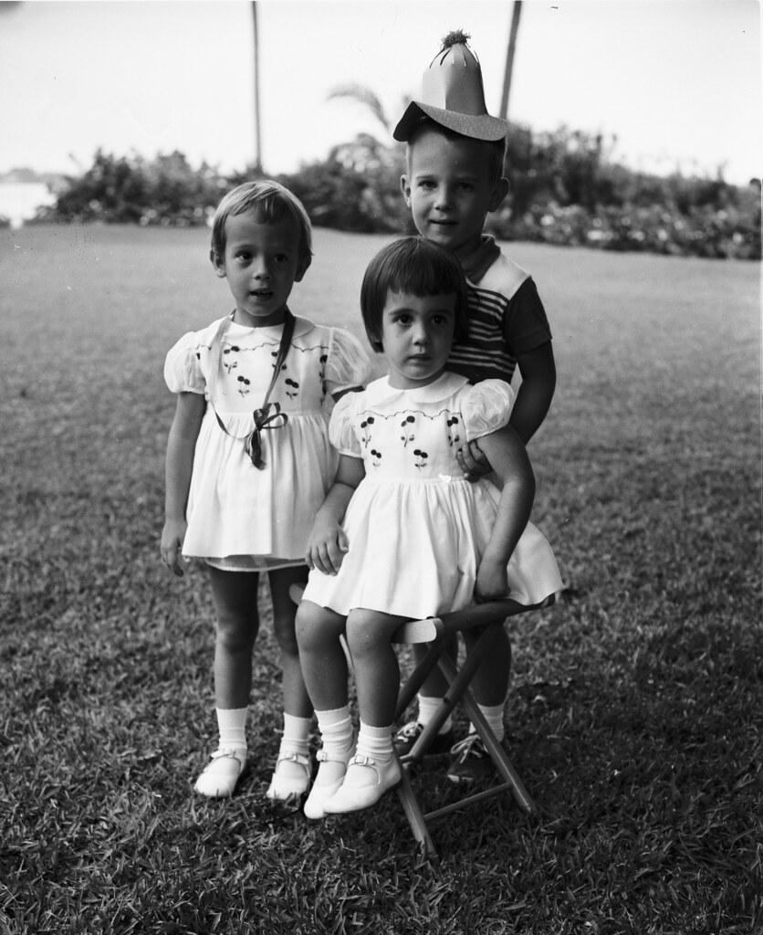 Pulitzer Children 1959 Liza Minnie And Peter Pulitzer