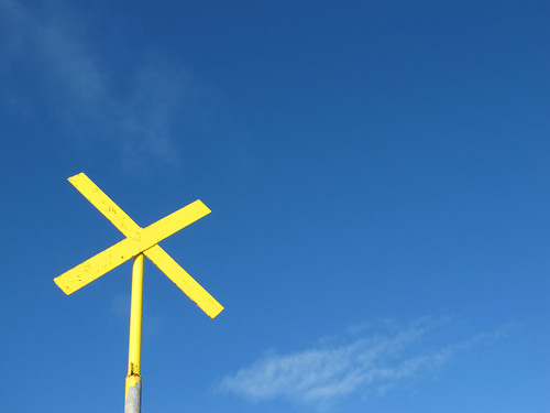 Yellow Cross, Blue Sky | by Dave Gorman