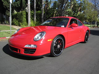 Los Angeles: Guards Red Porsche 911 Carrera GTS | by BeverlyHillsPorsches