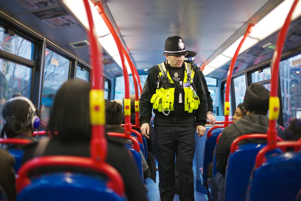 Day 8 Safer Travel Police On Birmingham Buses West Mid