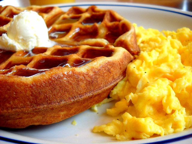 Waffles & Eggs | Flickr - Photo Sharing!