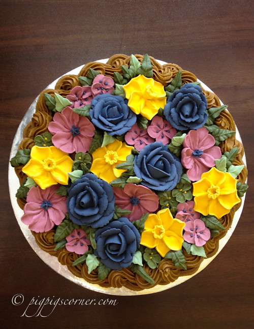 Cake Decorating Course Kirklees : Wilton Method of Cake Decorating Course 2 basketweave flow ...
