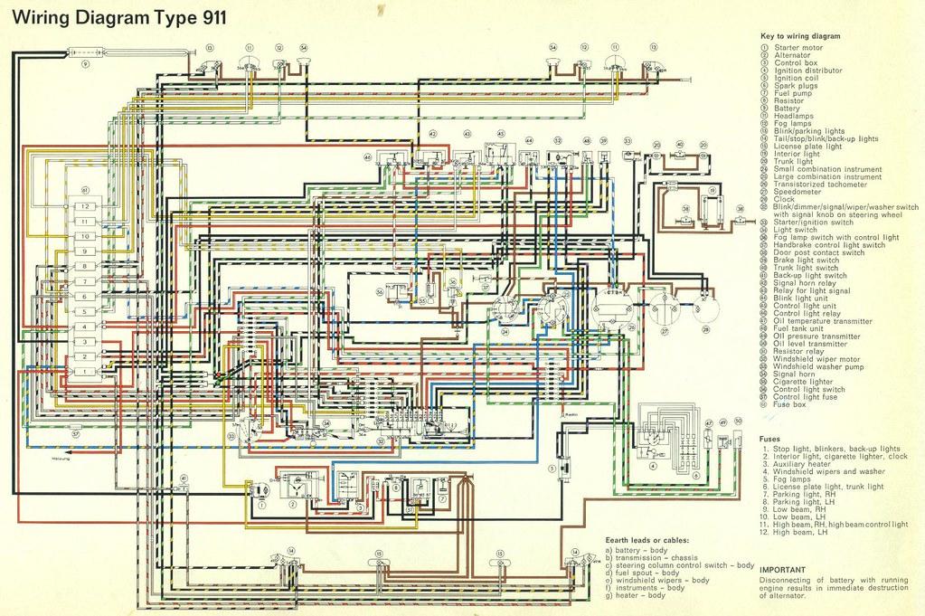 1965 porsche 911 wiring diagram 1965 porsche 911 wiring. Black Bedroom Furniture Sets. Home Design Ideas
