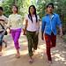 Loy9 Drama - Piseth, Linda, Sina, Sangha in Romdoul Village