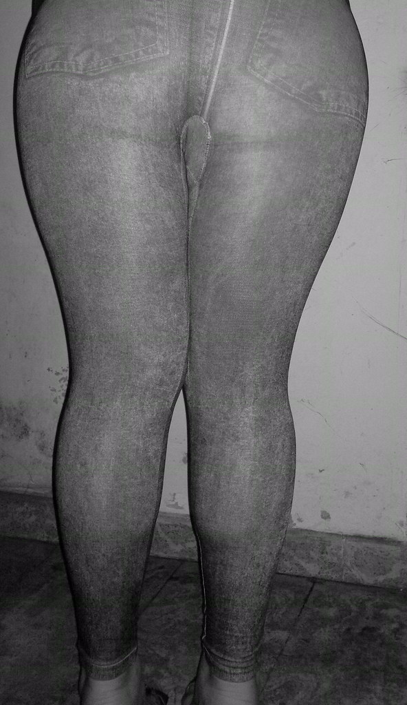 Culo ass leggins de calza brillosa - 1 part 7