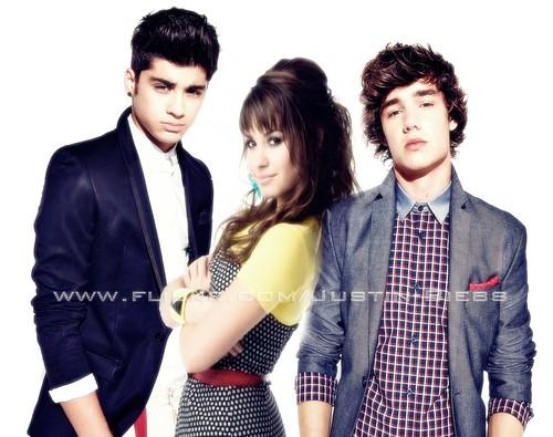 Zayn Malik, Demi Lovato & Liam Payne Manip | Flickr ...