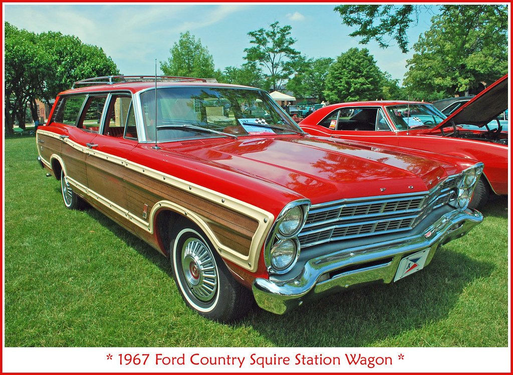 1967 ford country squire wagon the june 18 2011 motor. Black Bedroom Furniture Sets. Home Design Ideas