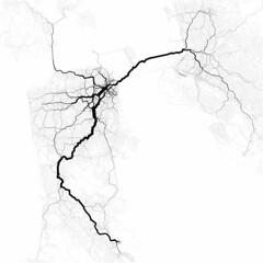 Paths through San Francisco