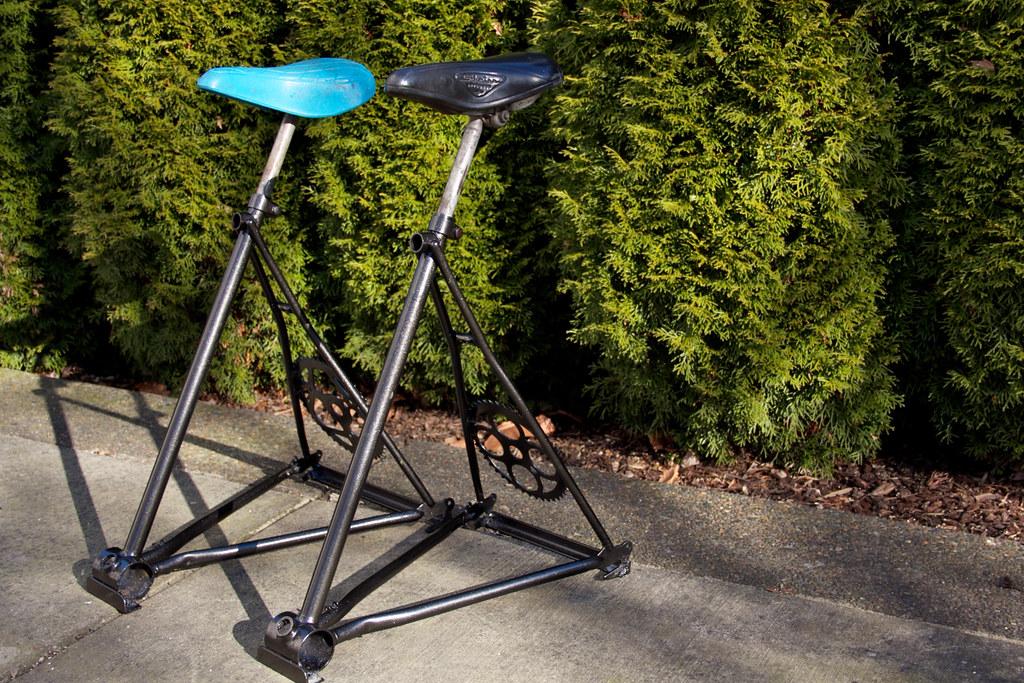 Two Bike Stools Bike seat bar stools by Toms Cargo  : 6838123429b3c249dfb4b from www.flickr.com size 1024 x 683 jpeg 390kB