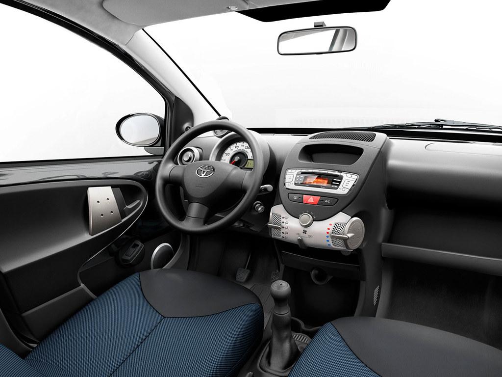 Toyota aygo 2012 interior toyota motor europe flickr - Toyota aygo interior ...