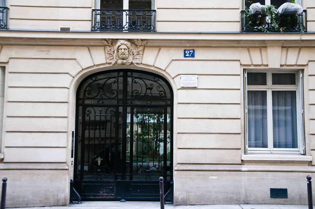 Gertrude Stein's apartment at 27 rue de Fleurus, Paris, Fe