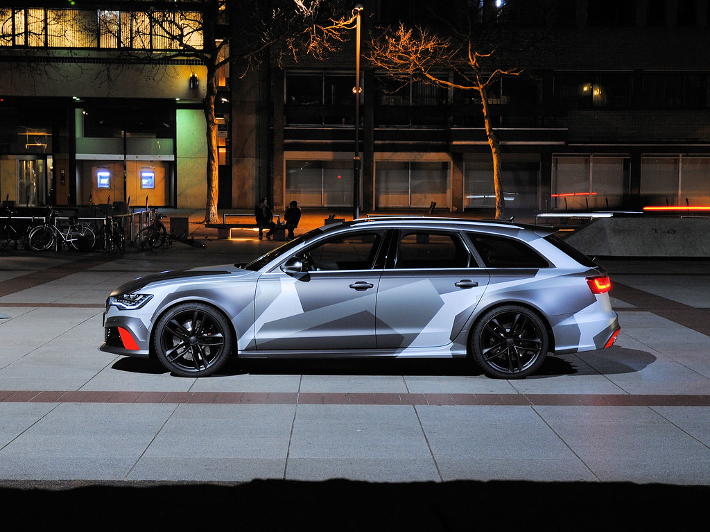 Audi Rs6 Jon Olsson Camo Editon Ad Van Der Aa Flickr