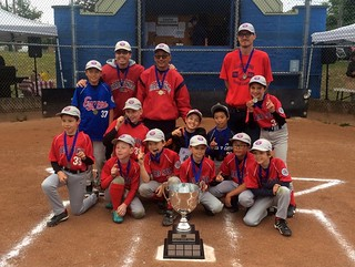 First place Hastings Red Sox