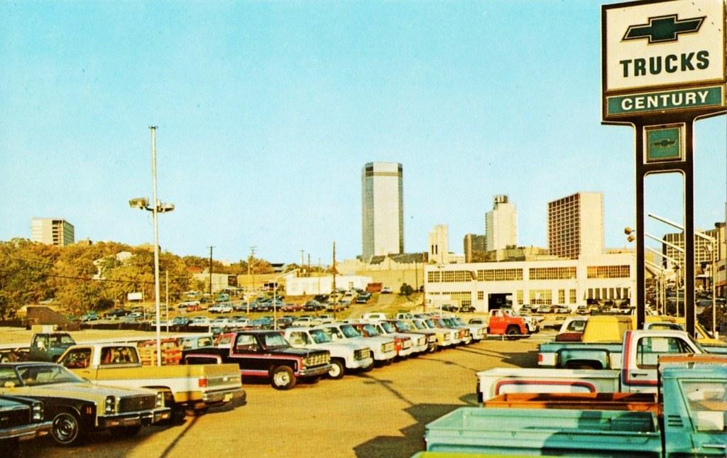 Century Chevrolet Trucks, Fort Worth TX, 1970s | Alden ...