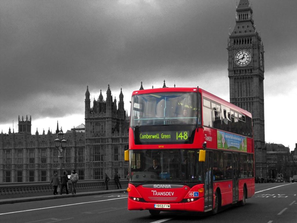 Bus And Big Ben Jnobles100 Flickr