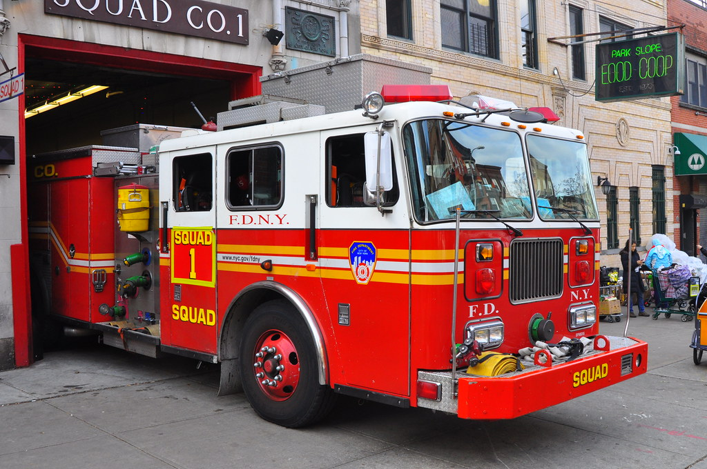 fdny squad 1 spare squad serving as squad 1 1998