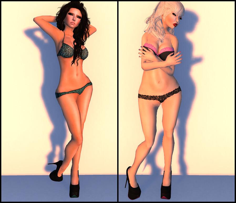 Softcore girls naked
