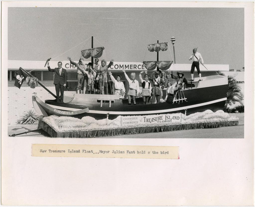 Treasure Island Hispaniola Crew
