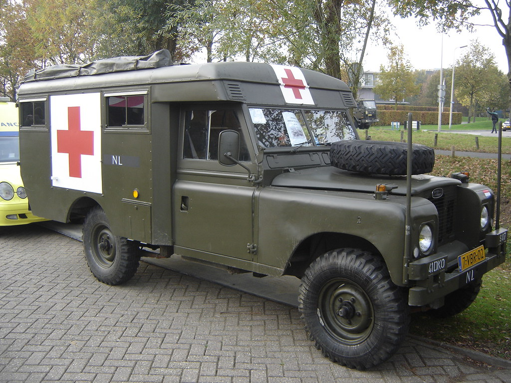 1970 Land Rover 109 Military Ambulance Harry Nl Flickr