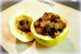 Mincemeat-Stuffed Quince | by SeppySills