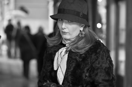Lady with hat - old edit | by luca.sartoni